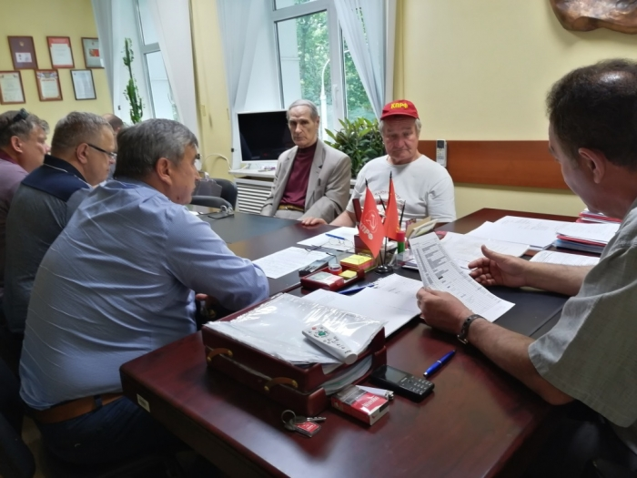 Состоялось Бюро МК КПРФ по выдвижению кандидатов от КПРФ на выборы в местные Советы