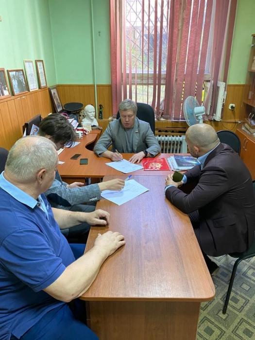 Русских А.Ю. провел прием граждан в Красногорском ГК