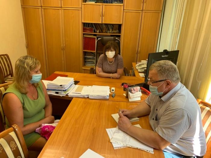 Депутат-коммунист Александр Наумов провёл приём граждан в городе Раменском