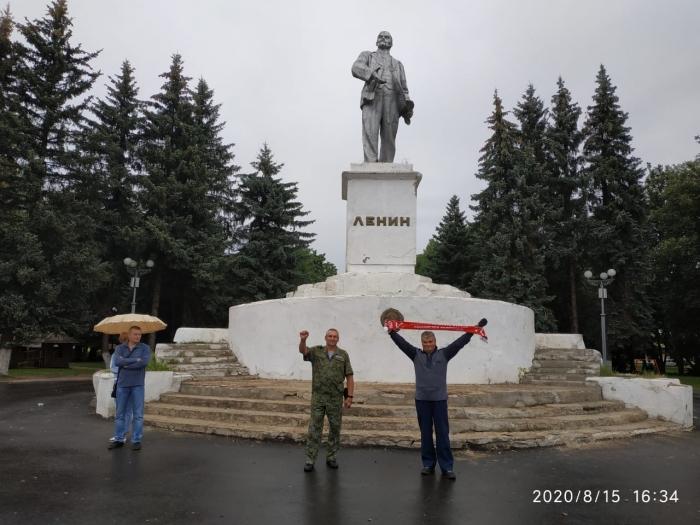 В Одинцово коммунисты провели автопробег под лозунгом «За справедливую народную власть!»