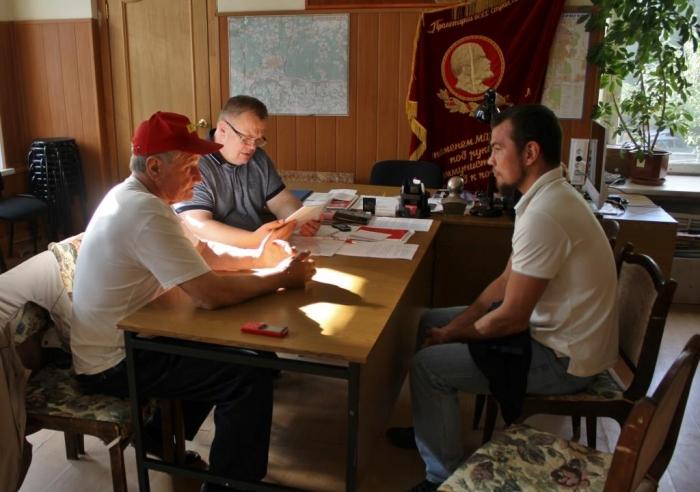 Депутат-коммунист Александр Наумов провел прием граждан в Серпухове