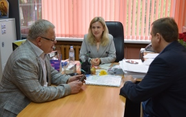 Депутат-коммунист Александр Наумов посетил с рабочим визитом Ступино