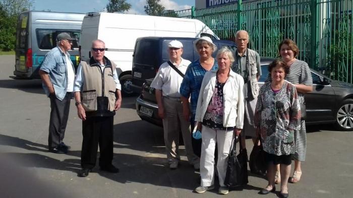 Коммунисты Орехово-Зуево организовали встречу ветеранов с П.Н. Грудининым