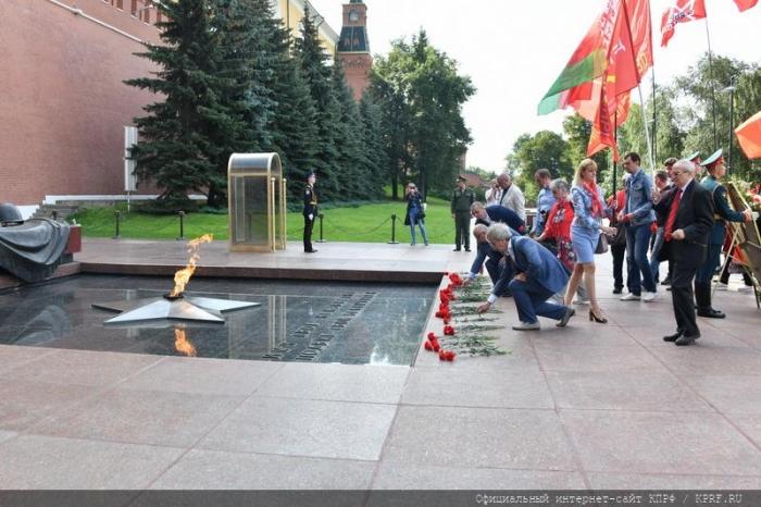 Г.А. Зюганов: «Наши отцы-победители справились с историческими задачами. Сегодня вызов стоит перед нами»