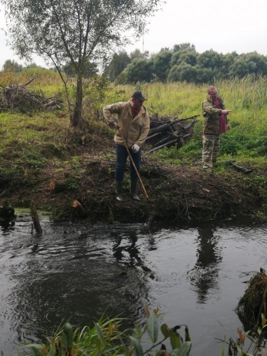 Акция по очистке берегов реки Талица