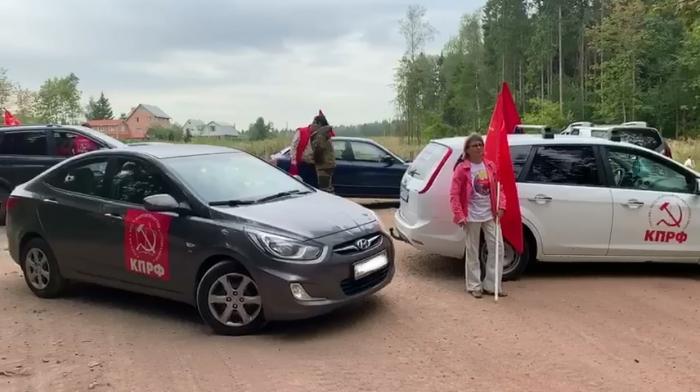 Коммунисты стали на пути нелегальных мусоровозов