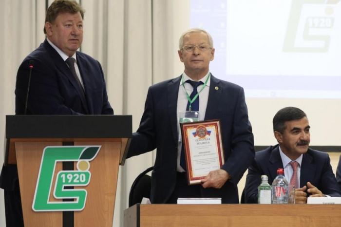 В.И.Кашин принял участие в мероприятиях, посвященных 100-летию Центра овощеводства ВНИИССОК