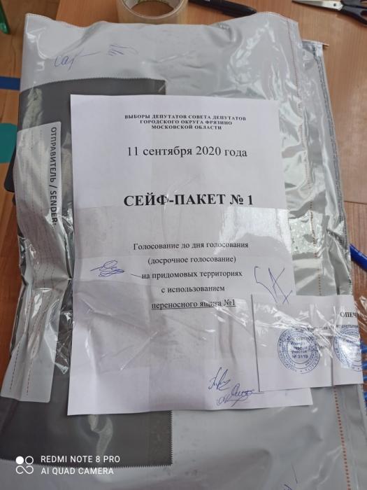 Началось досрочное голосование на выборах во Фрязино