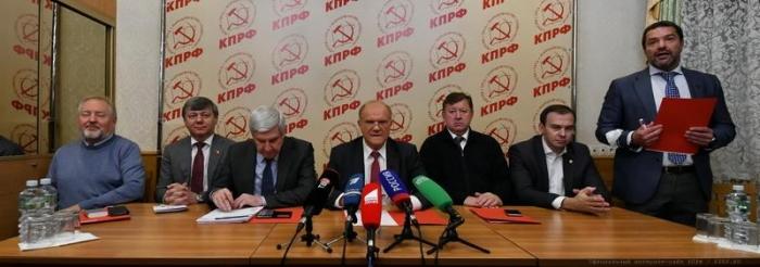 Г.А. Зюганов: «Власть гонит страну к политическому дефолту» » Московское  областное отделение КПРФ