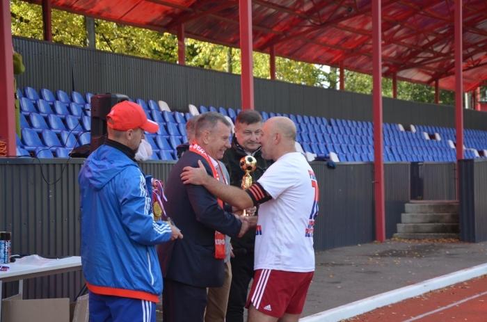 В Солнечногорске состоялся матч за Суперкубок по футболу среди ветеранов