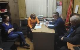 В Красногорском ГК КПРФ прошёл приём граждан по оказанию материальной помощи