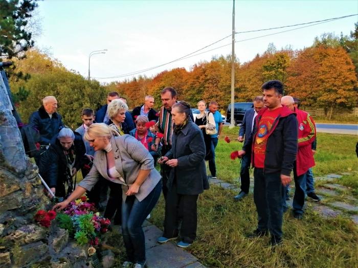 Митинг памяти в Щёлково