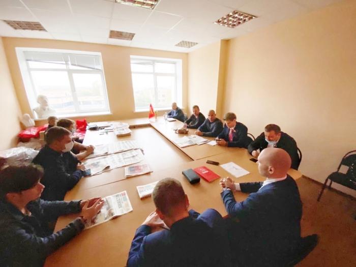 Заседание Дмитровского Бюро