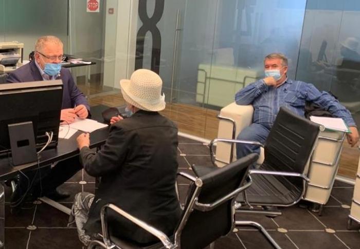 Депутат-коммунист Александр Наумов провел прием граждан в Ступино