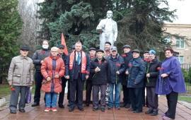 Коммунисты Солнечногорска отметили 103-ю годовщину Великой Октябрьской социалистической революции
