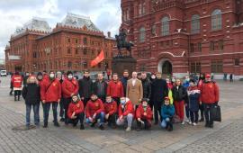 Комсомольцы Подмосковья отметили день Великого Октября