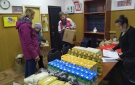 Гуманитарная помощь из совхоза имени Ленина