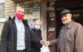 Орехово-Зуевские коммунисты раздали продуктовые наборы от МК КПРФ