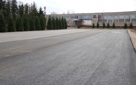 У школы – свой автодром