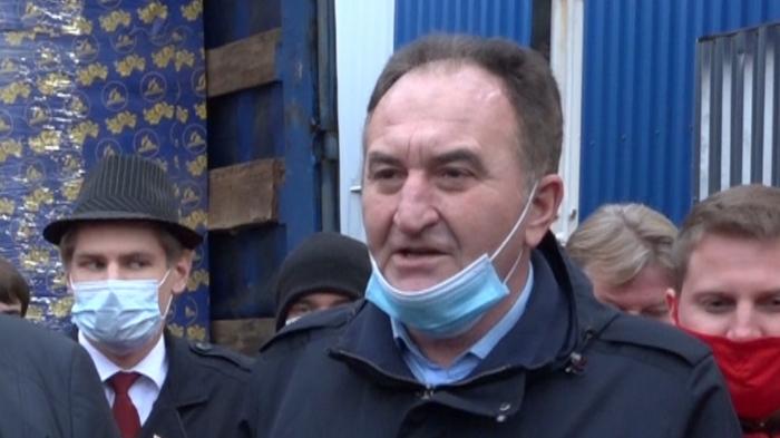 Выступление Первого секретаря МК КПРФ Н.И. Васильева на отправке 88-го гуманитарного конвоя
