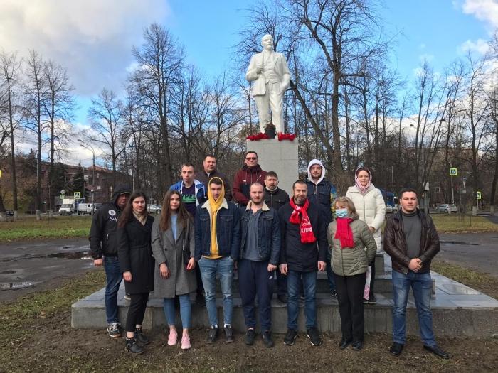 Клинские коммунисты отметили день Великого Октября