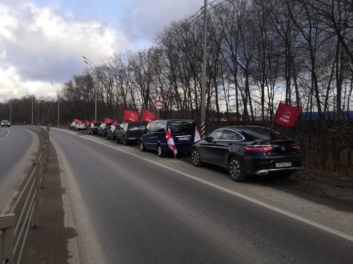 Автопробег по Ленинским местам
