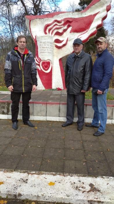 В Ногинске отметили день революции