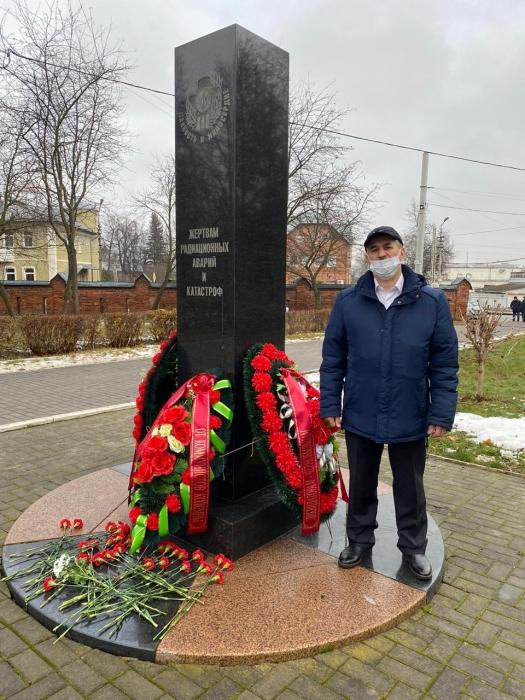 Награждение чернобыльцев в Коломне
