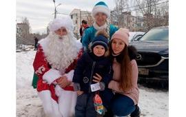 Щёлковские и Лосино-Петровские коммунисты поздравили с Новым годом