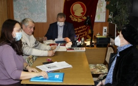 Депутат-коммунист Александр Наумов провёл приём населения в г.о. Серпухов