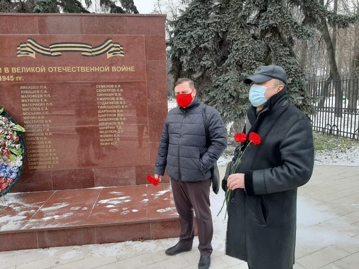 Подвиг неизвестного солдата почтили в Котельниках