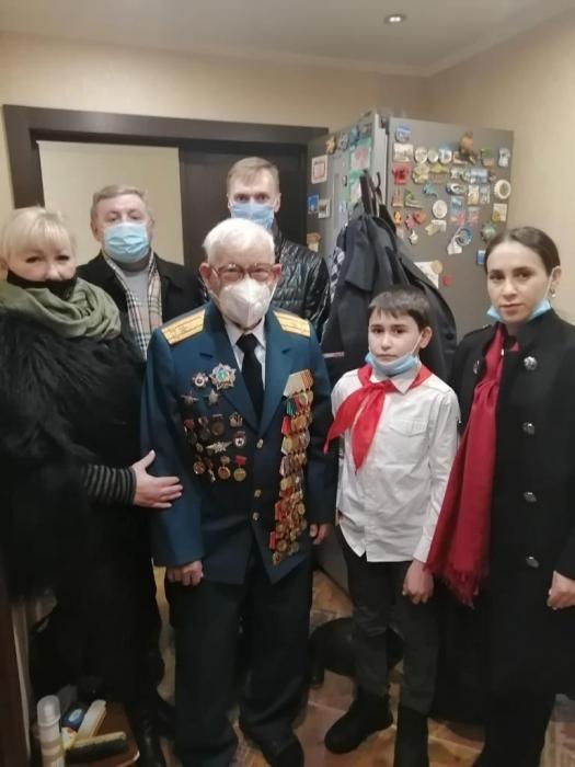 Старейший коммунист г. Королёва Н.Н. Багаев отметил своё 102-летие