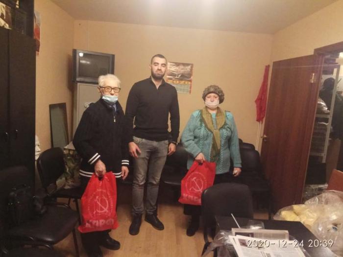 Реутовские коммунисты навестили ветеранов