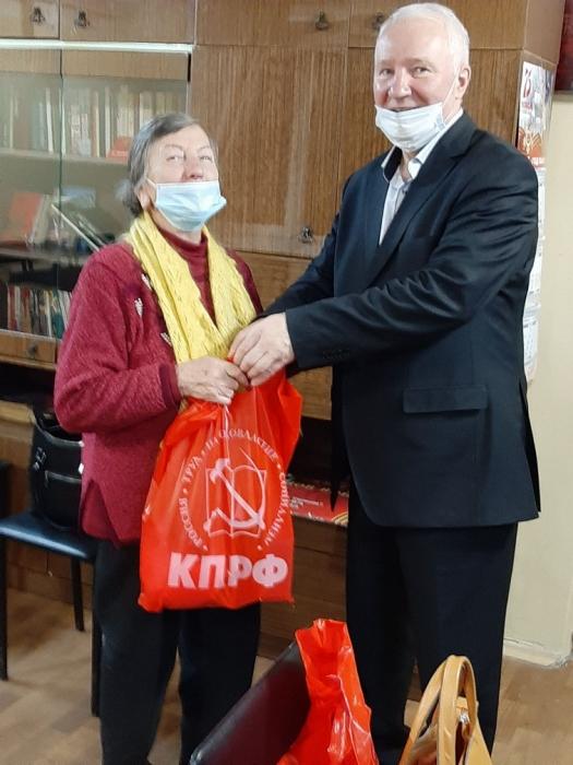 Подольский ГК КПРФ поздравил жителей округа с наступающим Новым годом
