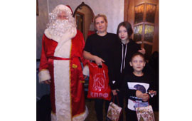 Волоколамские коммунисты поздравили с Новым годом