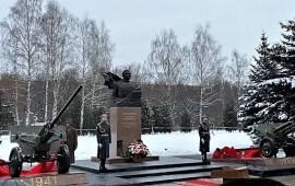 В Королёве открыт памятник В.Г. Грабину