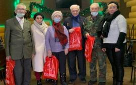 Королёвское отделение «Дети войны» поздравило ветеранов партии
