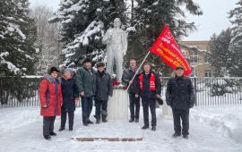 Память о Ленина почтили в Солнечногорске