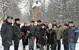 В Королёве состоялись возложения цветов  ко всем  памятникам В.И. Ленину