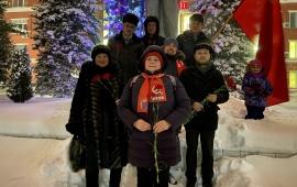 В Раменском почтили память о Ленине