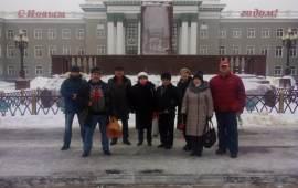 Коммунисты Ступино чтят память о Ленине