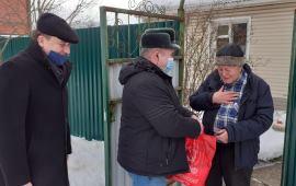 Ступинские коммунисты помогают ветеранам