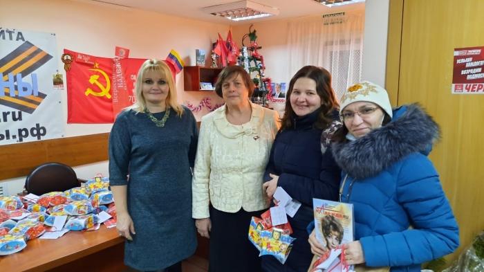 Щёлковские коммунисты поздравили с Новым годом!