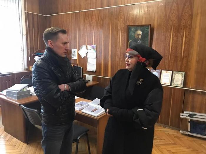 Нина Останина посетила Королёв
