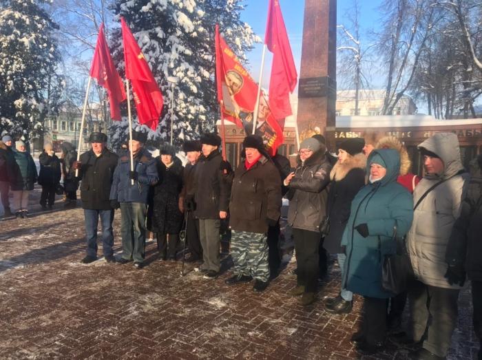 Коммунисты Рузы приняли участие в праздничном мероприятии