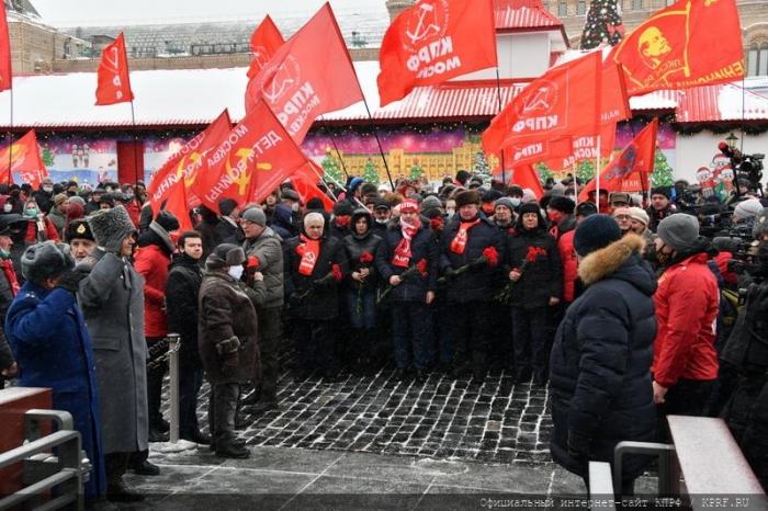 Без Ленина у России нет будущего!