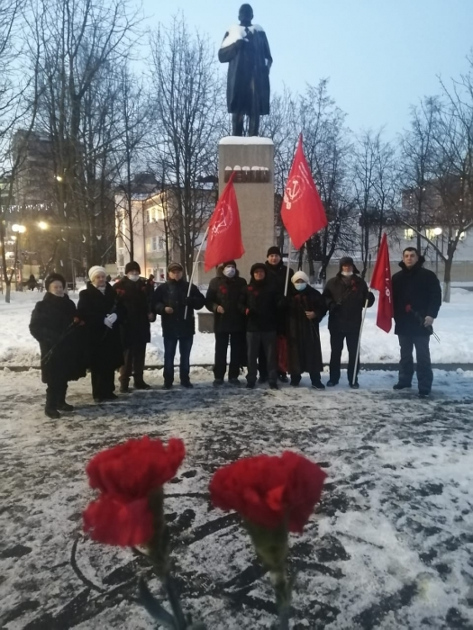 Реутовские коммунисты почтили память В.И. Ленина