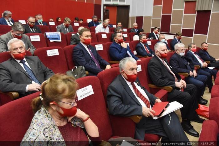 В подмосковных Снегирях открылся XIII Пленум ЦК КПРФ