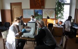 Коммунисты Серпухова организовали жителям плановый врачебный приём