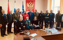 В Королёве прошла встреча «Детей Войны» и «Союза  Советских офицеров»